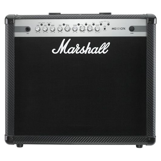 "MARSHALL MG101CFX E-Gitarrencombo, 100 Watt, 4-Kanal, 1x12"", Carbo Kevlar Fini., MG-Serie"