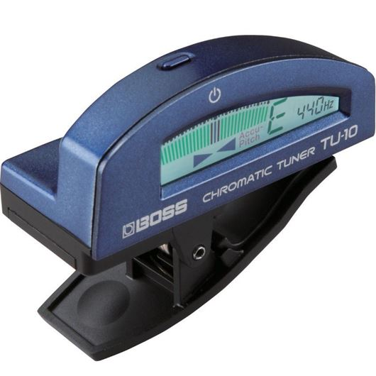Boss TU-10-BU Clip-on Tuner