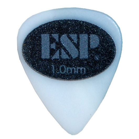 ESP Plektren Grip Rubber Logo 1,00 mm