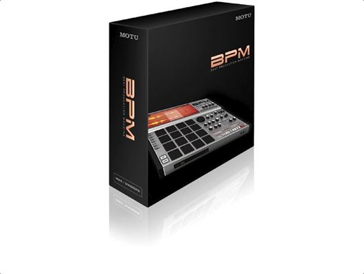 MOTU BPM Beat Production Machine