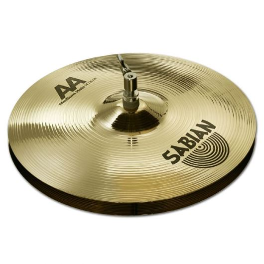 SABIAN 14 AA Medium Hats Brilliant