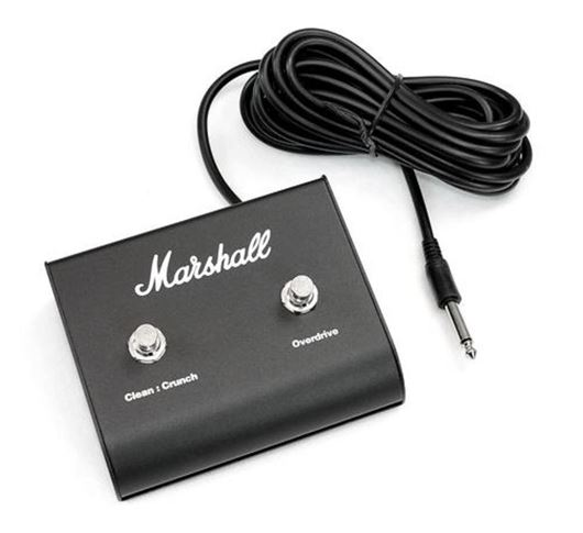 MARSHALL PEDL90010 Fußschalter, 2-fach, Clean/Crunch - Overdrive, an/aus ohne LED B-Stock