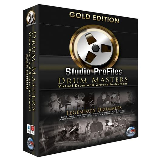 Sonic Reality Drum Masters Gold Edition