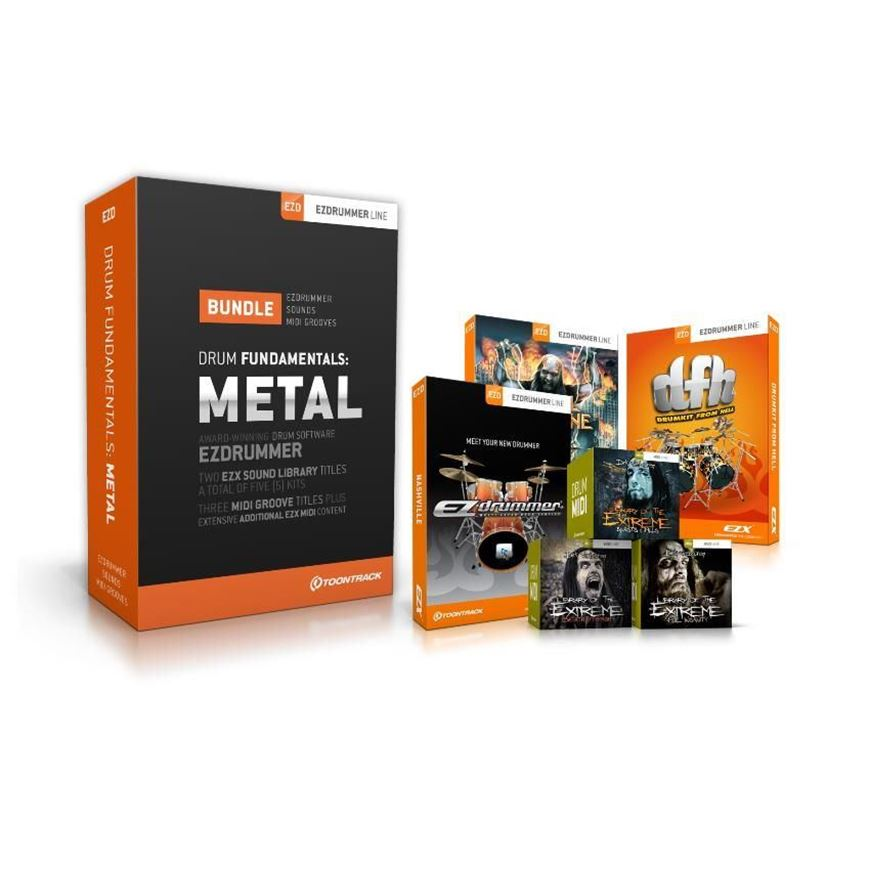 Toontrack Drum Fundamentals Metal