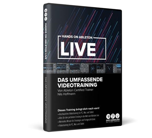 DVD Lernkurs Hands on Ableton Live 11
